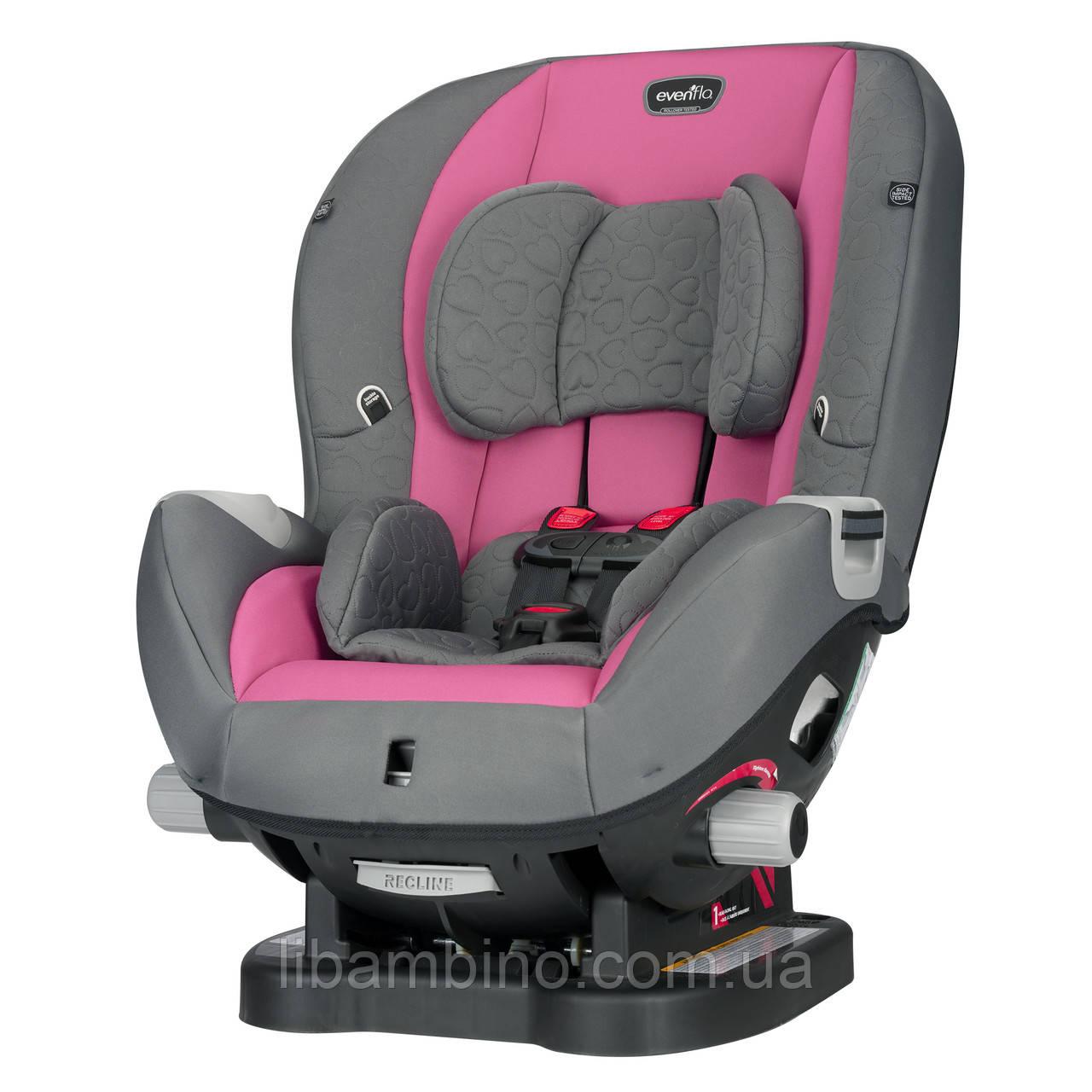 Дитяче універсальне автокрісло Evenflo Triumph  колір - Kora pink (група від 2,2 до 29,4 кг)
