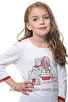 Піжама для дівчинки Стильні Собачки р.134-140 Ellen 040 001 134 46791ede302f6