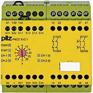 774550 Реле безпеки PILZ PNOZ XV2.1 30/24-240VACDC 2n/o 2n/o t, фото 2