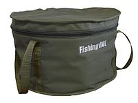 Ведро термо Fishing ROI с крышкой d=30см