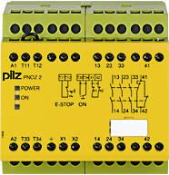 775830 Реле безпеки PILZ PNOZ 2 110VAC 3n/o 1n/c, фото 2