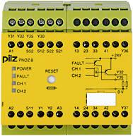 774760 Реле безпеки PILZ PNOZ 8 24VDC 3n/o 1n/c 2so, фото 2