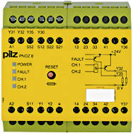 774764 Реле безпеки PILZ  PNOZ 8 110VAC 3n/o 1n/c 2so, фото 2