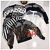 Женская блуза со вставкой сетка,в расцветках. АР-10-0620, фото 6