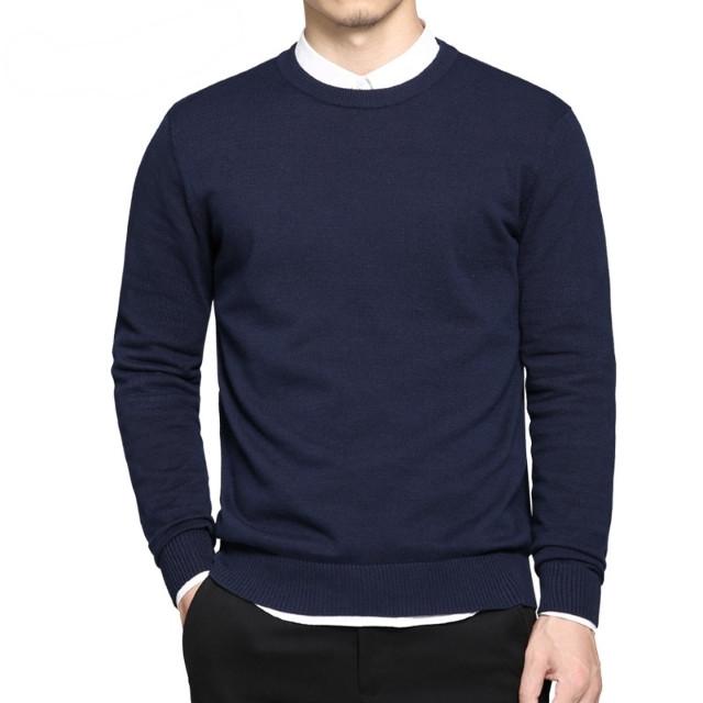 dce71e169086d Мужской стильный синий свитер (Турция) : продажа, цена в Киеве ...