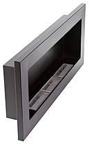 Биокамин Nice-House 900x400 мм, черный, полный комплект , фото 2