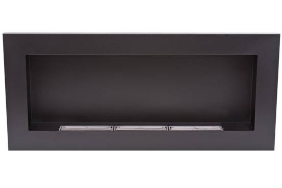 Биокамин Nice-House 90x40,черный, полный комплект, фото 2