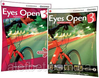 Английский язык / Eyes Open / Student's+Workbook. Учебник+Тетрадь (комплект), 3 / Cambridge