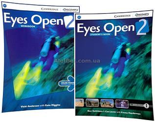 Английский язык / Eyes Open / Student's+Workbook. Учебник+Тетрадь (комплект), 2 / Cambridge