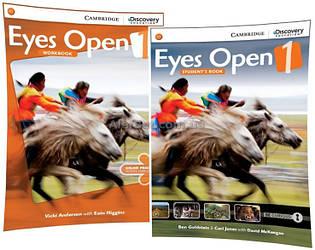 Английский язык / Eyes Open / Student's+Workbook. Учебник+Тетрадь (комплект), 1 / Cambridge