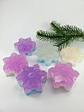 Снежинка Новогоднее мыло ручной работы, фото 8