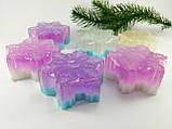 Снежинка Новогоднее мыло ручной работы, фото 3