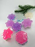 Снежинка Новогоднее мыло ручной работы, фото 10