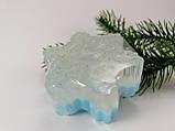 Снежинка Новогоднее мыло ручной работы, фото 4