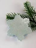 Снежинка Новогоднее мыло ручной работы, фото 9