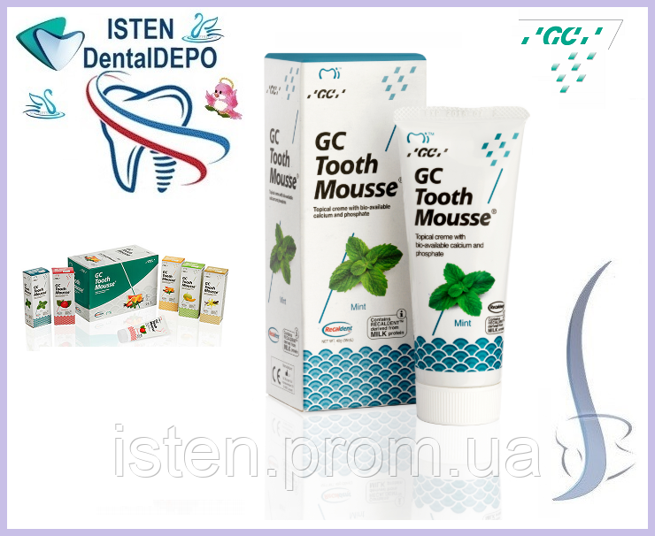 Крем Tooth Mousse  МЯТА  [Тус мус Тусс мусс], 40 гр.|35 мл.