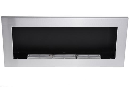 Биокамин Nice-House 900x400 мм, металлик, ароматезатор