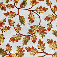 29039 Дубовый лист. Материалы для творчества, кукол и пэчворка. Ткань с листочками., фото 2