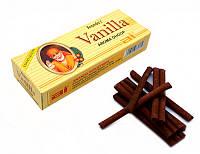 Аромапалочки ANAND'S VANILLA AROMA DHOOP (безосновные) Ваниль