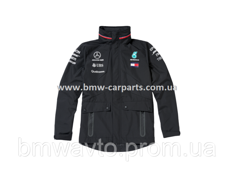 Мужская непромокаемая куртка Mercedes F1 Men's Cagoule