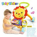 Каталка-ходунки 2in1 Baby Walker 869-52 (игровой центр,звук,свет,первые шаги), фото 2