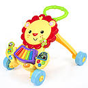 Каталка-ходунки 2in1 Baby Walker 869-52 (игровой центр,звук,свет,первые шаги), фото 3