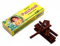 Аромапалочки Пачули ANAND'S PATCHOULI AROMA DHOOP (безосновные)