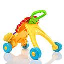 Каталка-ходунки 2in1 Baby Walker 869-52 (игровой центр,звук,свет,первые шаги), фото 6