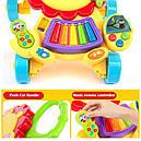 Каталка-ходунки 2in1 Baby Walker 869-52 (игровой центр,звук,свет,первые шаги), фото 8