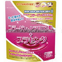 Yuwa Коллаген и низкомолекулярная гиалуроновая кислота + плацента, Япония 100 гр. Ваша естественная молодость.
