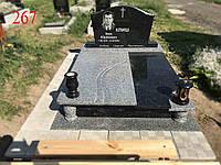 Памятник двойной под боковое будущее захоронение, фото 1