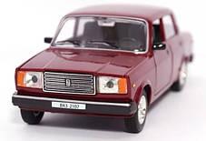 Машина металлическая ВАЗ 2107 Автопром. Модель машины ВАЗ 2107. Свет. Звук. Открываются двери, капот, багажник, фото 3
