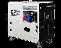 Дизельный генератор Könner & Söhnen KS 9200HDES-1/3 ATSR, фото 1