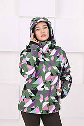 Горнолыжная женская куртка DL&AM S,M,L,XL,2XL
