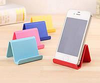 Подставка для телефона, планшета, розовая