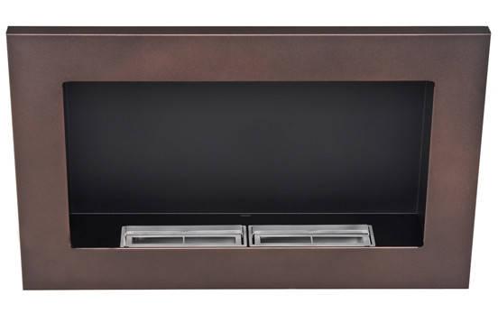 Биокамин Nice-House 65x40, коричневый,ароматезатор, фото 2