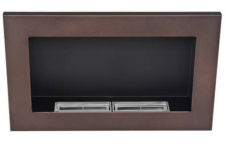 Биокамин Nice-House 65x40 см, коричневый, ароматезатор, фото 2