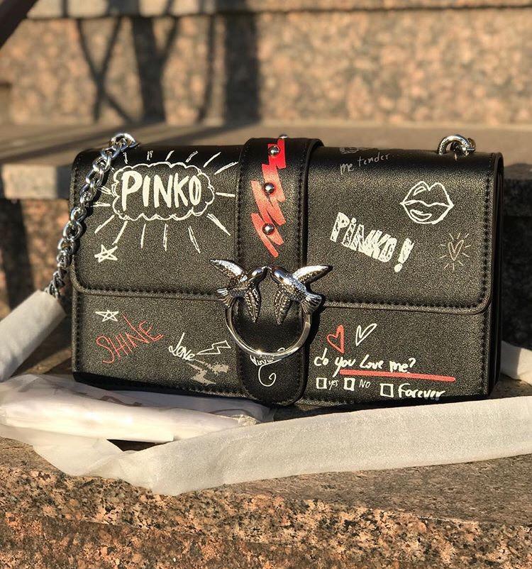 1643395adf86 Сумочка (сумка ) Pinko LUX реплика, цена 2 600 грн., купить в ...