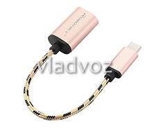 OTG кабель адаптер конвертер переходник тип USB 3.1 USB-C , фото 3