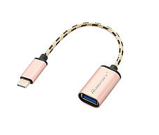OTG кабель адаптер конвертер переходник тип USB 3.1 USB-C , фото 2