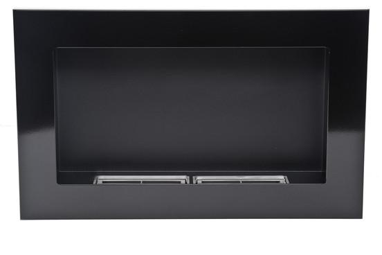 Биокамин Nice-House 65x40 см, черный, глянцевый, ароматезатор