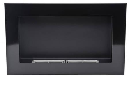 Биокамин Nice-House 65x40 см, черный, глянцевый, ароматезатор, фото 2