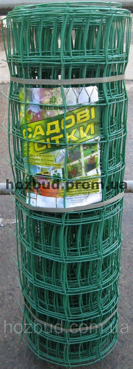 Сетка пластиковая забор 1*20м. ячейка 85*95
