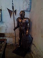 Рыцарь металлический для декора, фото 1