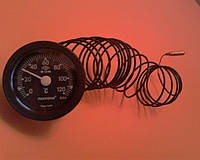 Термометр капиллярный PAKKENS Ø52мм / Tmax=120°С / длина капилляра L=3м       Турция