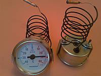 Термометр капиллярный PAKKENS Ø60мм от -40 до +40 °С, длина капилляра 1м     Турция