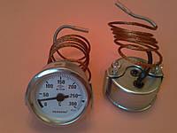 Термометр капиллярный PAKKENS Ø60мм от 0 до 300°С, длина капилляра 1метр     Турция
