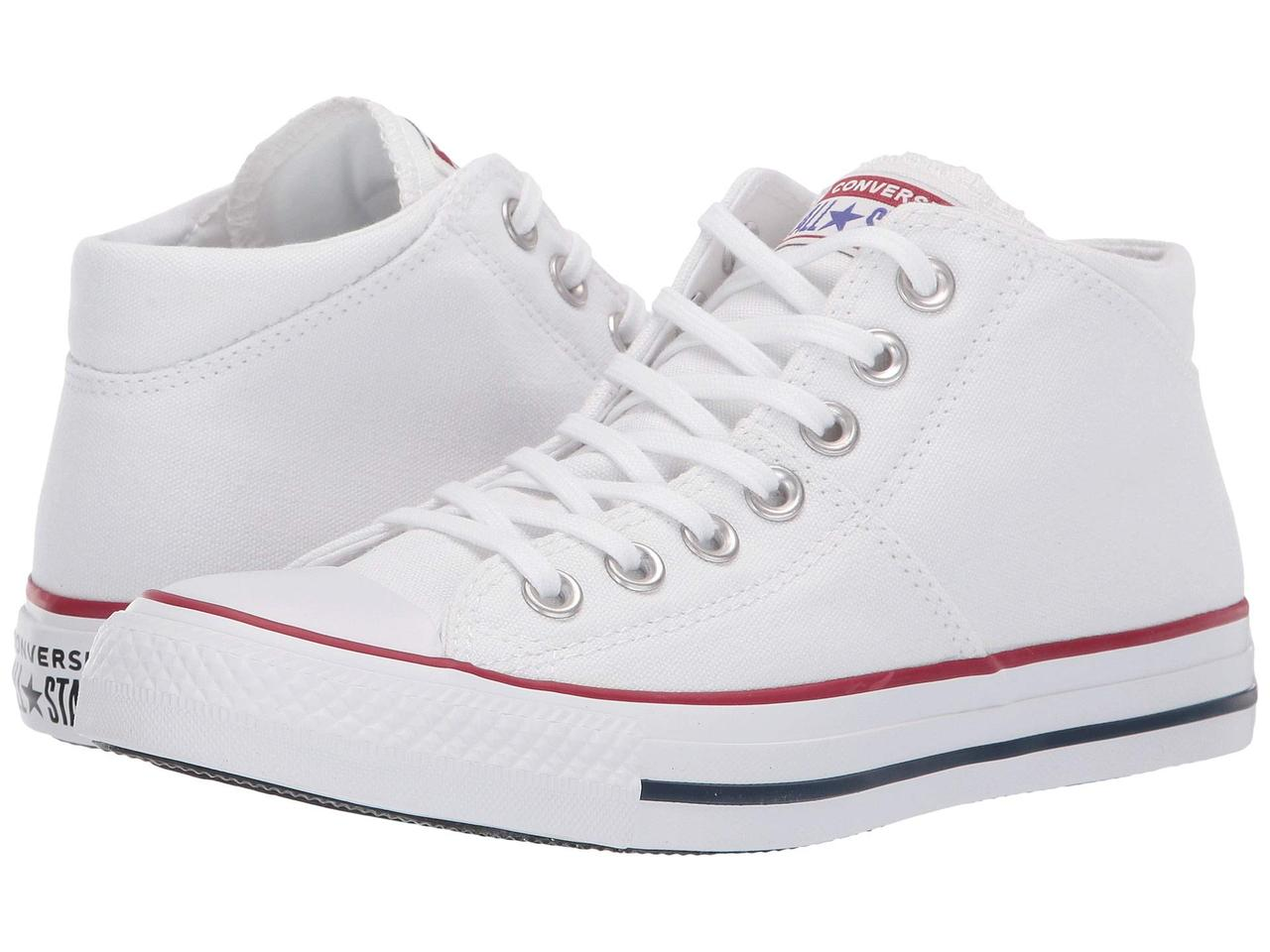Кроссовки/Кеды (Оригинал) Converse Chuck Taylor® All Star® Madison True Faves Mid White/White/White