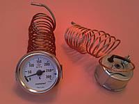 Термометр капиллярный PAKKENS Ø60мм от 0 до 300°С, длина капилляра 2м     Турция
