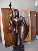 Сувенирный рыцарь из металла, фото 1